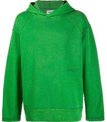 ambush oversized raglan hoodie - green