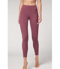 calzedonia active leggings woman pink size s