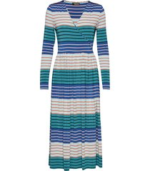 alina, 623 light jersey jurk knielengte multi/patroon stine goya
