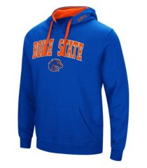 colosseum boise state broncos men's arch logo hoodie