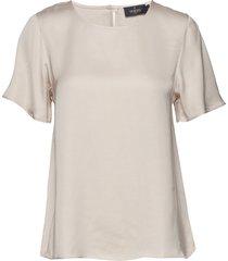 julie blouse blouses short-sleeved crème morris lady