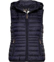 vests outdoor woven vest blauw esprit casual