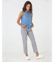 pantalón mini rayas