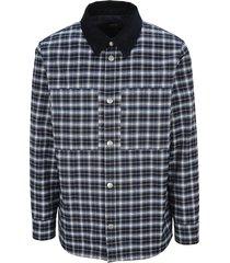 a.p.c. plaid jacket
