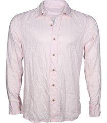 camisa lino soft pink