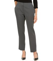 kasper petite pin-dot trouser pants