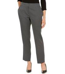 kasper petite pin-dot trouser pants