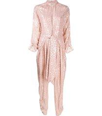 tuta ballet pink jumpsuit