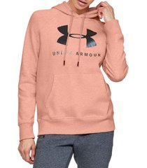 sweater under armour rival fleece sportstyle graphic hoodie 1348550-689