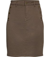 frlomax 3 skirt kort kjol grön fransa