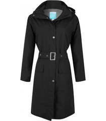 happyrainydays regenjas long coat bowie black-xs