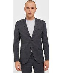 premium by jack & jones jprsolaris blazer noos kavajer & kostymer mörk grå