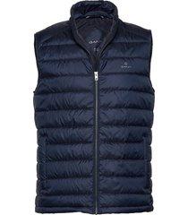 d1. the light down gilet vest blauw gant