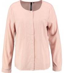 broadway roze viscose blouse