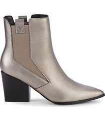 finigan metallic booties