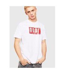 camiseta diesel t-just-a9 masculina