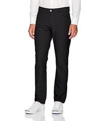 pantalón negro calvin klein chino infinite style tech suit