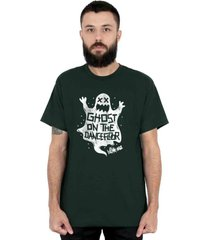 camiseta 182life ghost on the dancefloor musgo - cinza/verde - masculino - dafiti