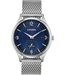 citizen drive from citizen eco-drive men's stainless steel mesh bracelet watch 40mm