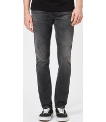 nudie jeans men's lean dean straight jeans - mono grey - w38/l32