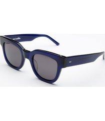 sun buddies men's liv sunglasses - very dark blue
