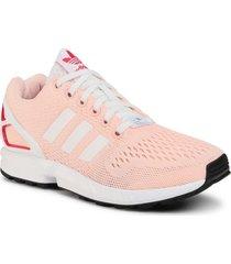 zapatilla coral adidas zx flux w