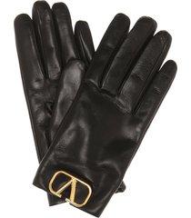 vlogo leather gloves