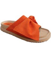 sandalia naranja maily