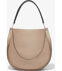 proenza schouler large arch shoulder bag light taupe/neutrals one size