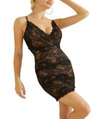 guess dani lace bodycon dress