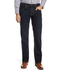 men's 7 for all mankind austyn relaxed fit jeans, size 40 - black
