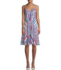 magna stripe dress