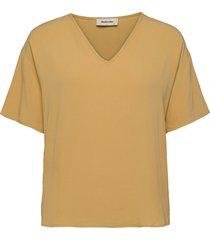 casa top blouses short-sleeved gul modström