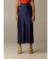 theory skirt theory long silk skirt