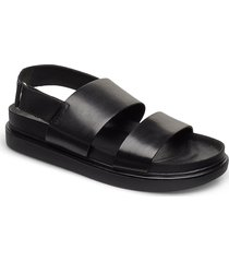 erin shoes summer shoes flat sandals svart vagabond