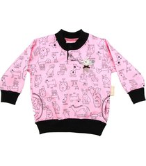 buzo rosa cante pido by flavio mendoza pink dog