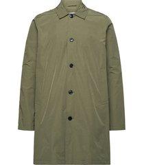 massa coat 10915 trenchcoat lange jas groen samsøe samsøe