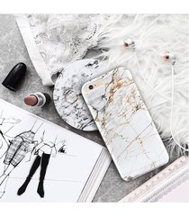 white gold marble  phone case cover for iphone 7 plus, 6s plus, 6s 5s 5c,galaxy