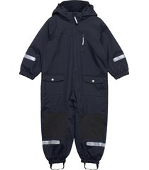 overall shell lined preschool outerwear shell clothing shell coveralls blå polarn o. pyret