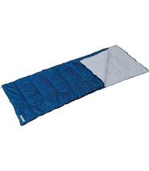 saco de dormir / colchonete mor com travesseiro, 2,20 x 0,75 metros - azul