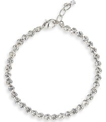 women's cristabelle crystal tennis bracelet
