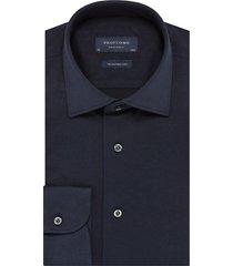 profuomo dress hemd pp0h0a054 blauw