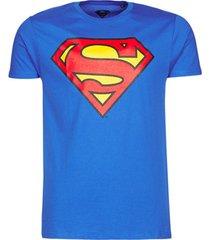 t-shirt korte mouw yurban superman logo classic