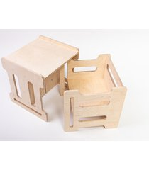 zestaw qubik mash krzesełko i stolik dla dzieci