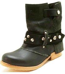 botin  amalia negro amano shoes