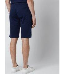 polo ralph lauren men's loopback jersey slim shorts - cruise navy - l