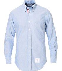 classic button down oxford shirt, light blue