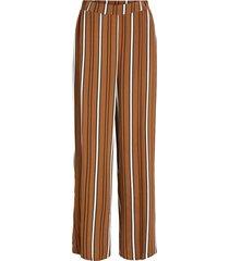 broek gestreepte high waist