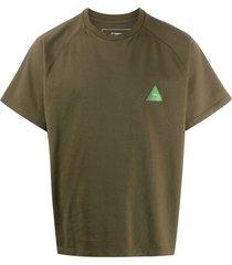 gr-uniforma short raglan-sleeved t-shirt - green