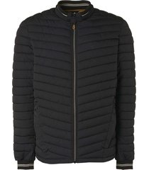 no excess jacket short fit padded black